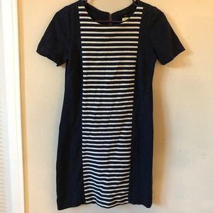 J. Crew Stripe Knit Shirt Dress - Sz 00